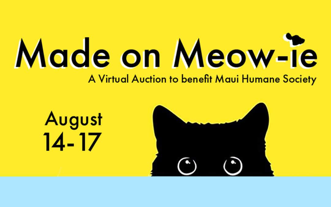 Made on Meowie: A Virtual Fundraiser Auction