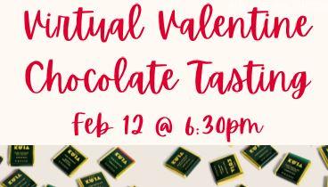 Virtual Valentine's Day Chocolate Tasting